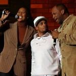 YOlanda Adams, Kirk Franklin and Donnie McClurkin perform on Hopeville Tor