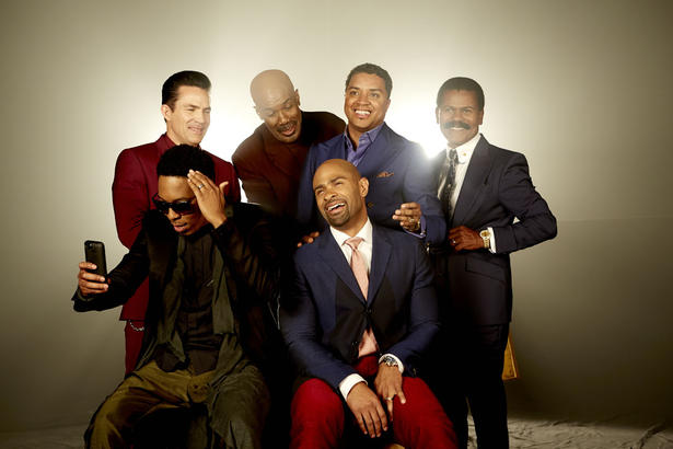 Cast of Preachers of L.A. on Oxygen Network