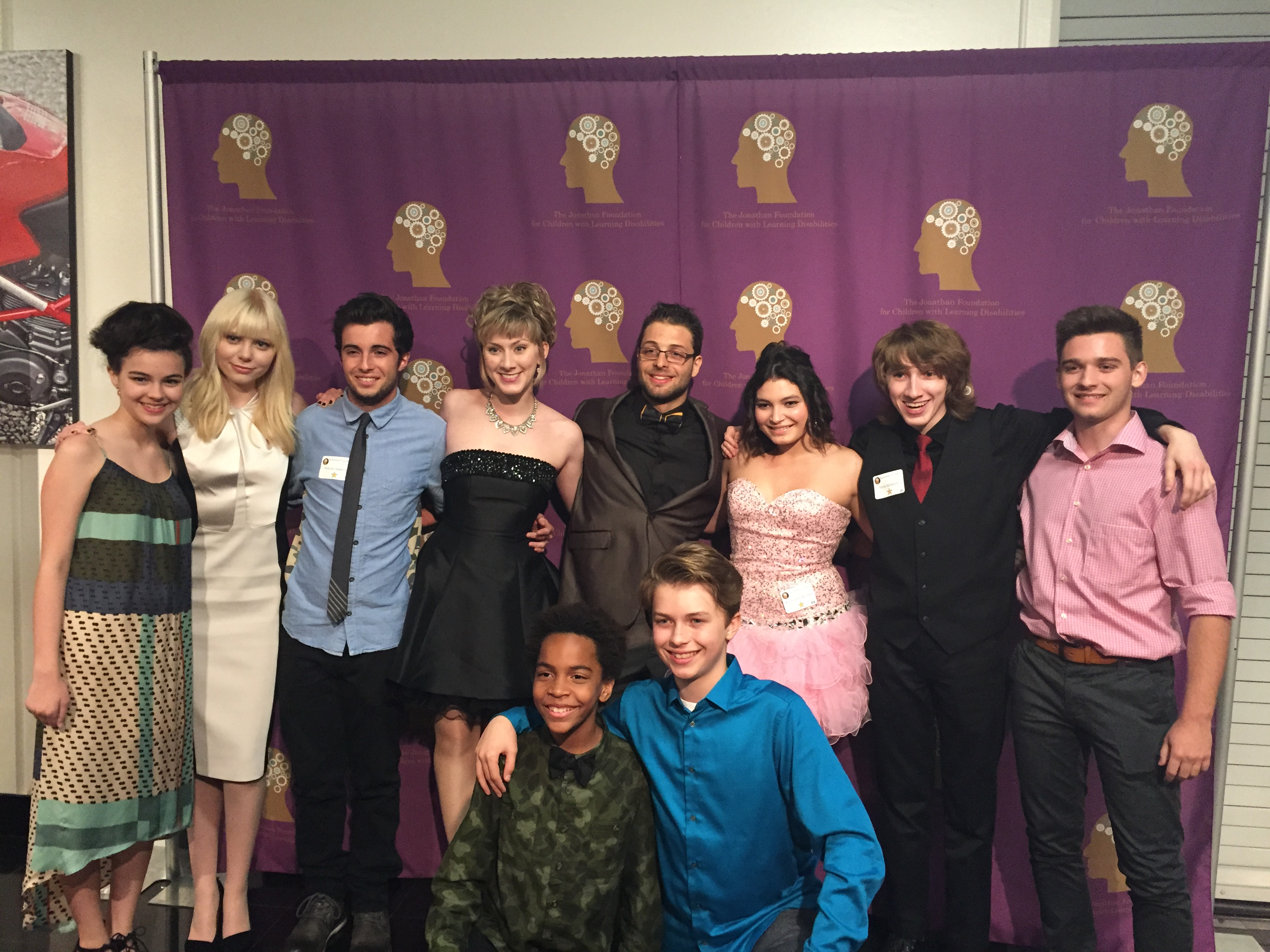 Young Actors at The Jonathan Foundation Fundraiser