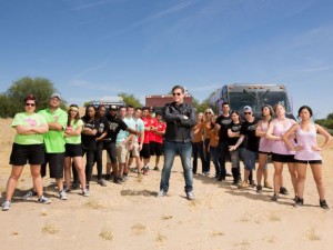 Tyler Florence and The Great Food Truck Race teams, season 6 Food Network.
