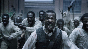 Nate Parker leads slaves on a revolt against whites in movie Birth of A Nation.