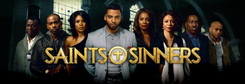 photo of show poster Saints & Sinners