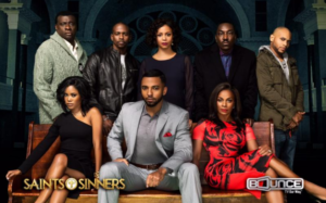 Saints & Sinners TV cast photo