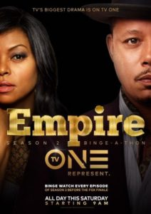 Empire on TV One poster