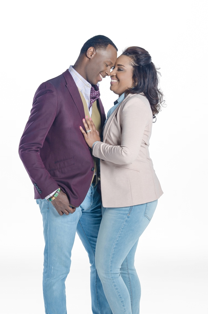 Micah Stampley and wife Heidi Stampley.