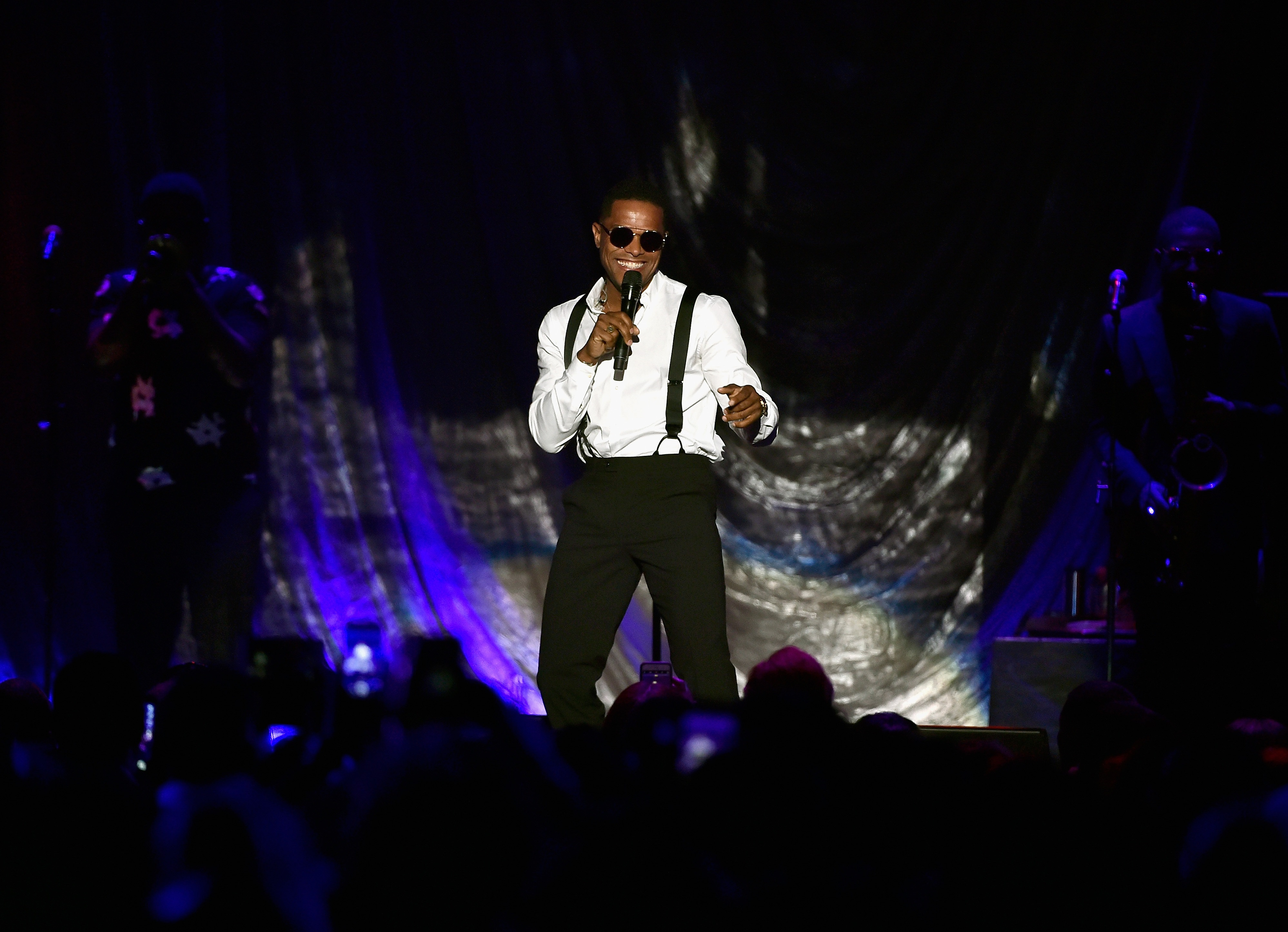 Singer Maxwell performs at The 2016 State Farm Awards, Las Vegas, NV.