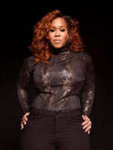 Tina Campbell of Mary Mary