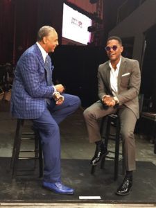 Ed Gordon talks with singer Maxwell on Ed Gordon show on Bounce TV