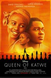 Poster of Walt Disney Movie Queen of Katwe
