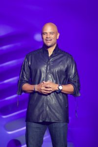 Dondre' T. Whitfield, actor and hostofTV One special Lexus Verses and Flow.