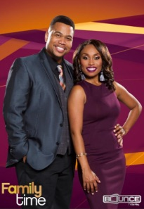 Family Time sit-com stars Omar Gooding and Angell Conwell.