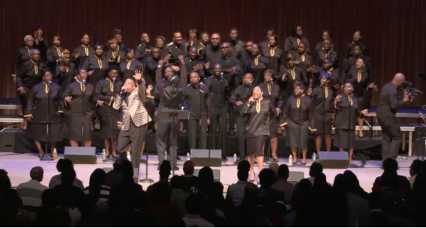 Miami Mass Choir Live: At The Adrienne Arsht Center recording. Miami-Dade County, FL