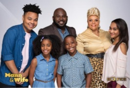 Cast of Mann & Wife. Photo courtesy of Bounce TV.