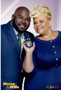 David and Tamela Mann, stars of Bounce TV's Mann & Wife.
