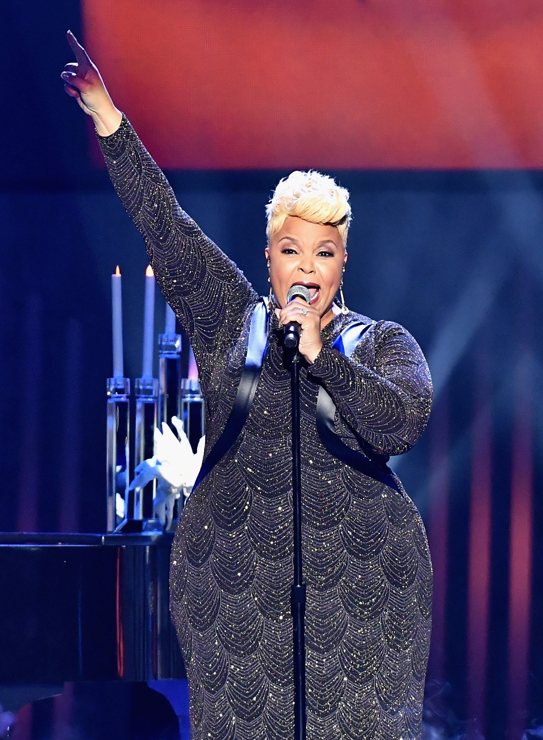 Tamela Mann performs during the 32nd Stellar Gospel Music Awards, March 25, 2017 in Las Vegas, NV.