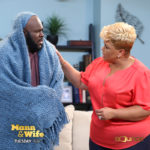 Daniel (David Mann) sick and at home with wife Toni (Tamela ann) who tries to comfort the law enforcement officer.