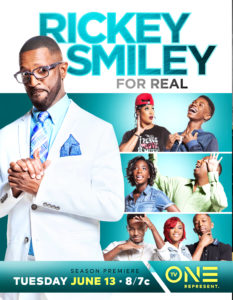 Rickey Smiley For Real TV Show Poster
