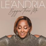 Le'Andria Johnson album cover, Bigger Than Me