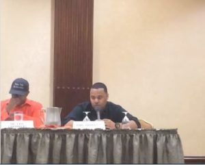 Philt Thornton speaking on a gospel panel at the 2016 Urban Network Digital Conference in San Diego, CA.