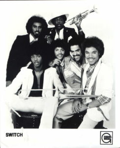 Switch r and b group publicity photo from Motown Records 1970s.