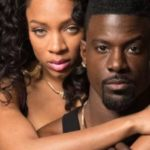 Publicity photo of TV One movie stars Niatia (Lil Mama) Kirkland and Lance Gross. Photo courtesy of TV One.