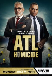 ATL Homicide True Crime Series one sheet photo